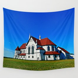 St. Mary's Church rear view Wall Tapestry