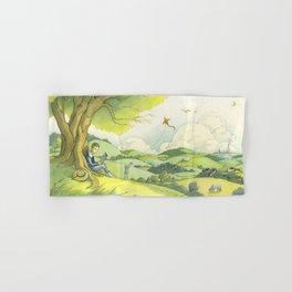 Tolkien In The Birmingham Hills Hand & Bath Towel