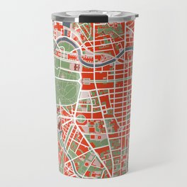 Berlin city map classic Travel Mug