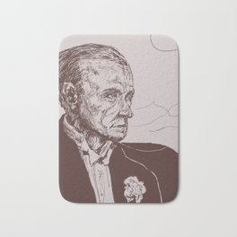 Fred Astaire in Moon Luminance Bath Mat