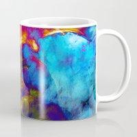 phoenix Mugs featuring Phoenix by George Michael Art