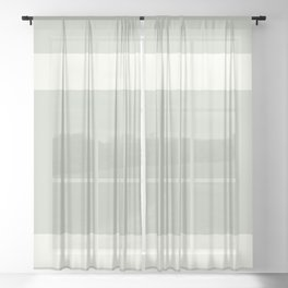 sp imperfect grid Sheer Curtain
