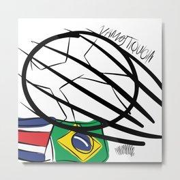 VAMOS TIQUICIA! Metal Print
