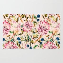 Pattern boho floral Rug