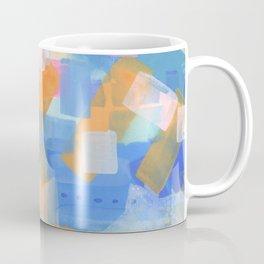 Geometric abstract in pastel Coffee Mug