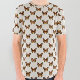 Monarch Butterfly All Over Graphic Tee