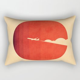 The long goodbye Rectangular Pillow