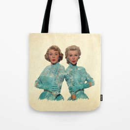 Two Different Faces... (Sisters) Tote Bag
