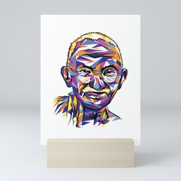 Legend of the fall – Ghandi Mini Art Print