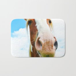 Horse in the Clouds Bath Mat