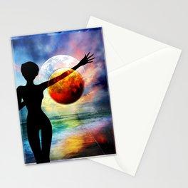 1-10 HALF FULL Stationery Cards