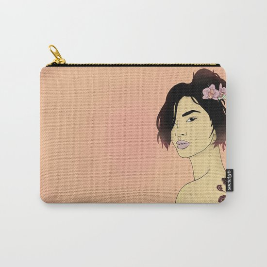 Cloudy Lady Carry-All Pouch