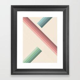 Vintage Geometric Framed Art Print