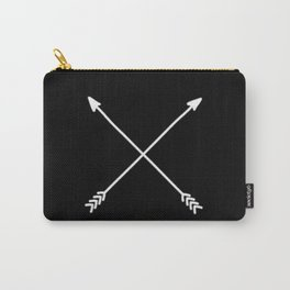 black crossed arrows Carry-All Pouch