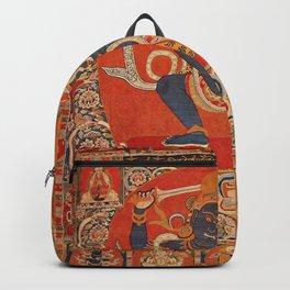 Tantric Buddhist Deity Achala Blue Backpack