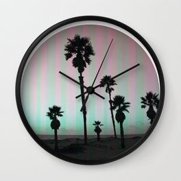 Summer in a Circle Wall Clock