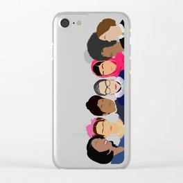 Feminist Squad Goals Clear iPhone Case