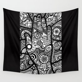 The hand of righteousness Wall Tapestry