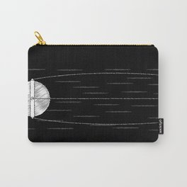 Sputnik Chalk Drawing Carry-All Pouch