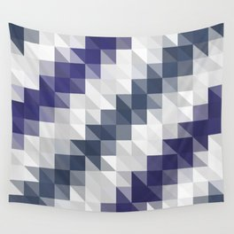 Funky Triangles Wall Tapestry