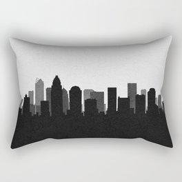 City Skylines: Charlotte Rectangular Pillow