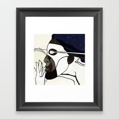 Captain Photon Framed Art Print