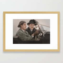 Dear Jeeves Framed Art Print