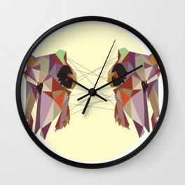 Youngbird Skulls Wall Clock