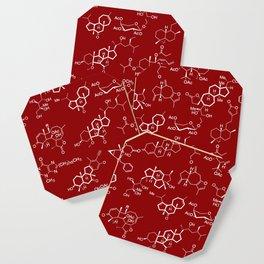 Molecules // Maroon Coaster