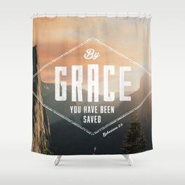 Ephesians 2:5 Shower Curtain