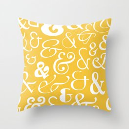 We Are Ampersands Throw Pillow