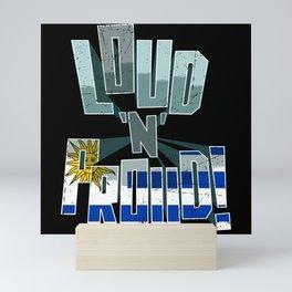 Uruguay Pride Loud N Proud Mini Art Print