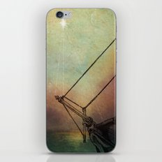 Gently Guided Ship iPhone & iPod Skin