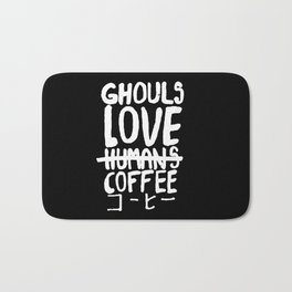 Ghouls Love Coffee Bath Mat