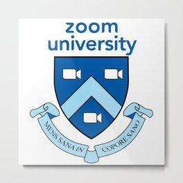 Zoom University  Metal Print