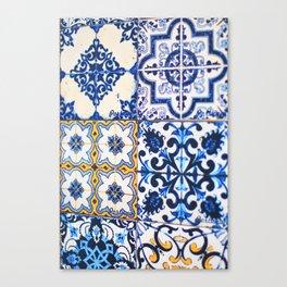 319. Azulejos Best Of, Porto Canvas Print