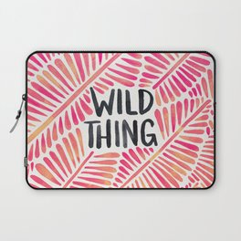 Wild Thing – Pink Ombré & Black Palette Laptop Sleeve