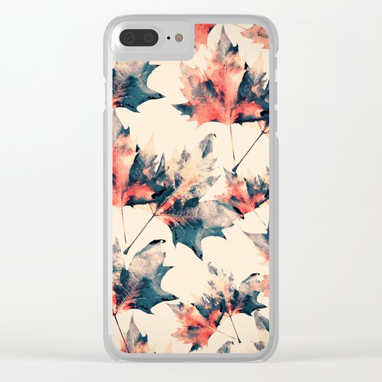 LEAVES 3 Clear iPhone Case