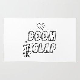 Boom Clap (song lyrics) Rug
