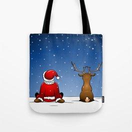 waiting for christmas Tote Bag