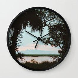 Cumberland Island Wall Clock