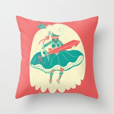 Magical Ass Kicker Throw Pillow