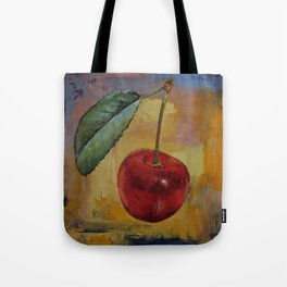 Vintage Cherry Tote Bag