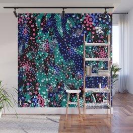 Abstract Mixed Media Series Sea Urchins 10 Wall Mural