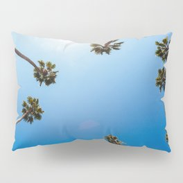 Palm Trees in Los Angeles Pillow Sham