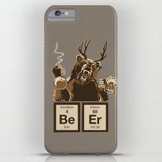 Funny chemistry bear discovered beer iPhone 6s Plus Slim Case