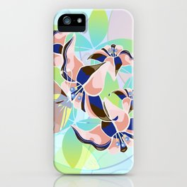 Tanz der Lilien - Dance of the Lilies iPhone Case