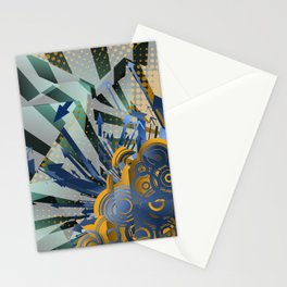 Vector Cubism Stationery Cards