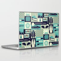 risa rodil Laptop & iPad Skins featuring Carry on my wayward son by Risa Rodil