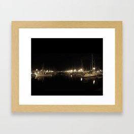 The Calm After Hours Framed Art Print